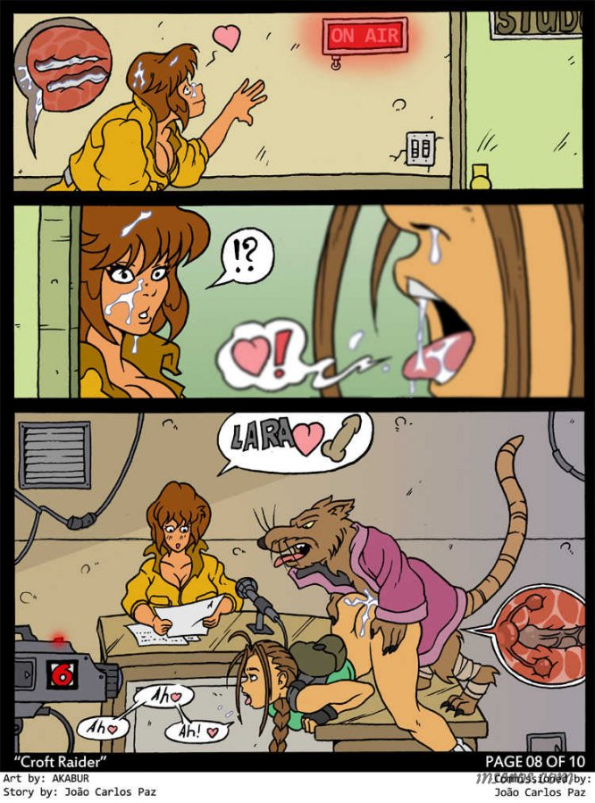 Эйприл ебут черепашки комикс