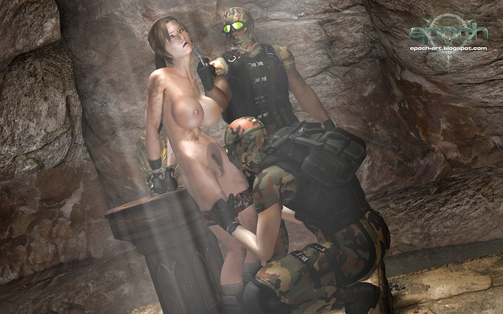 Lara croft 3d world xxx hentay photo
