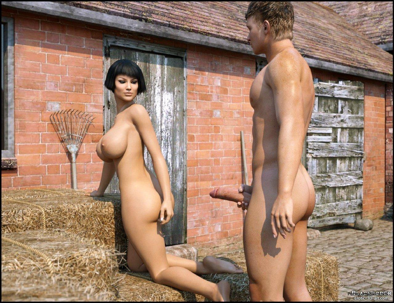 Секс на ферме hd 14 фотография