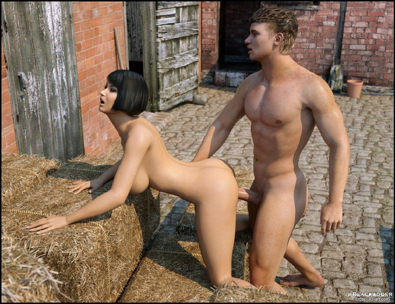 Секс на ферме капилка
