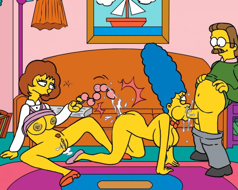 Порно комиксы нед фландерс