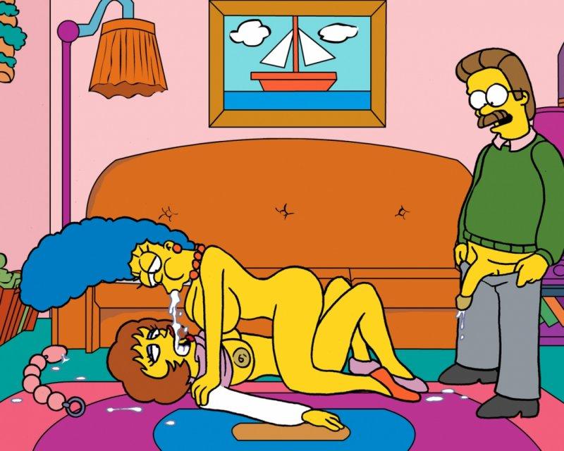 Симпсоны порн игра