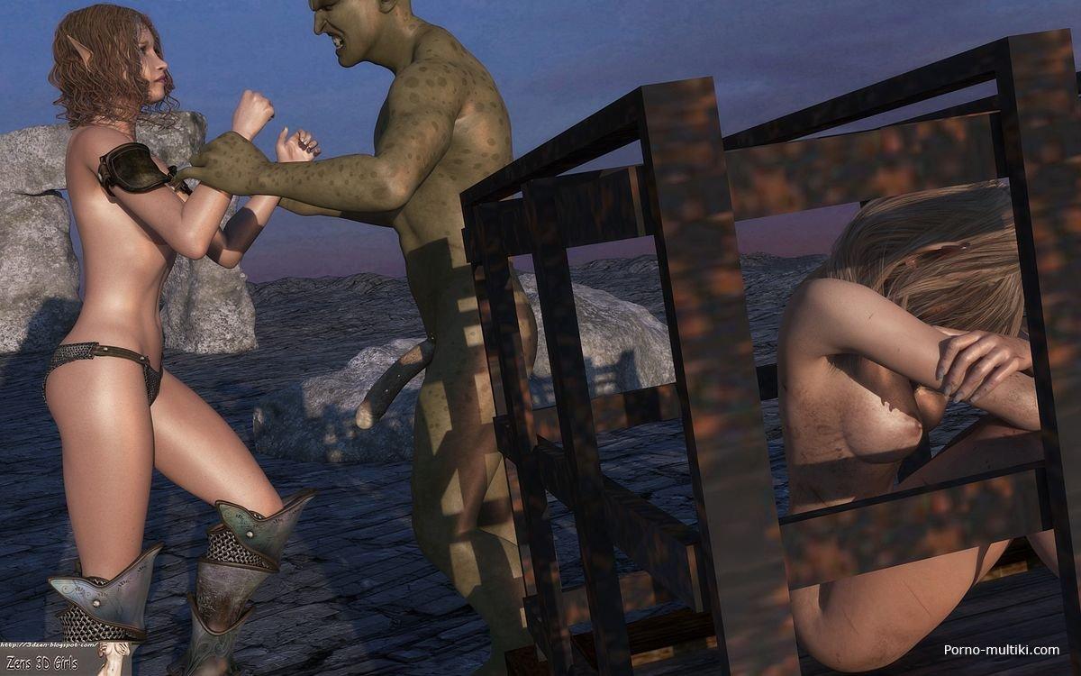 Винкс взяли в плен и трах