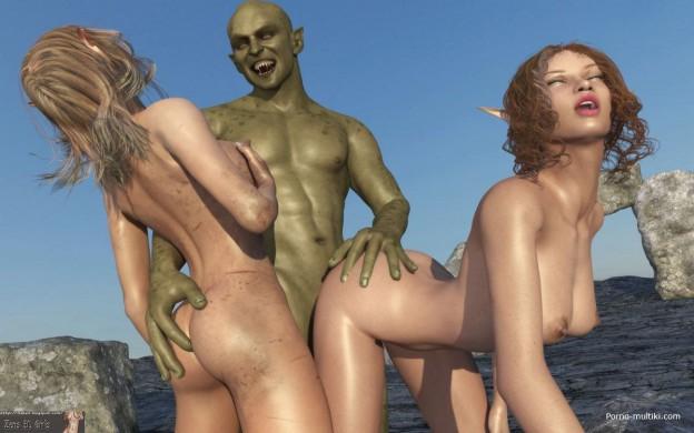 порно 3d с инопланетянином