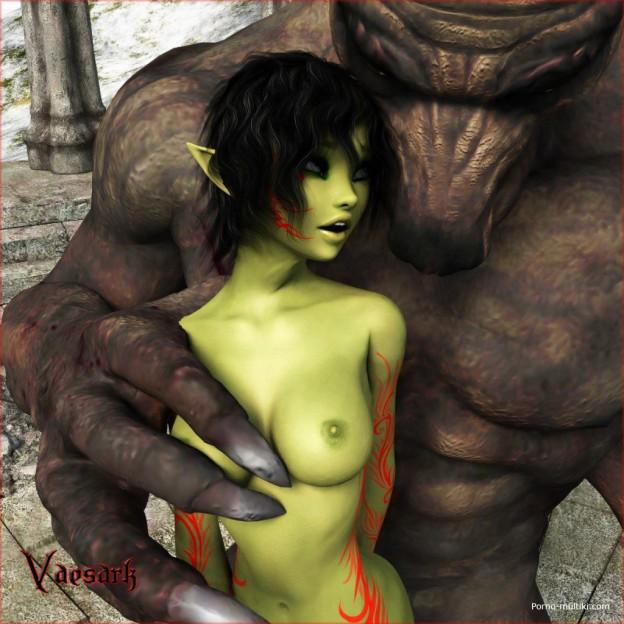 3д порно фэнтезими смонстрами