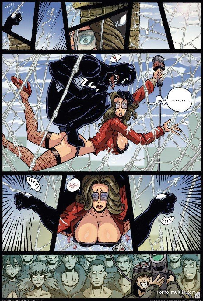 Порно пародии spider man
