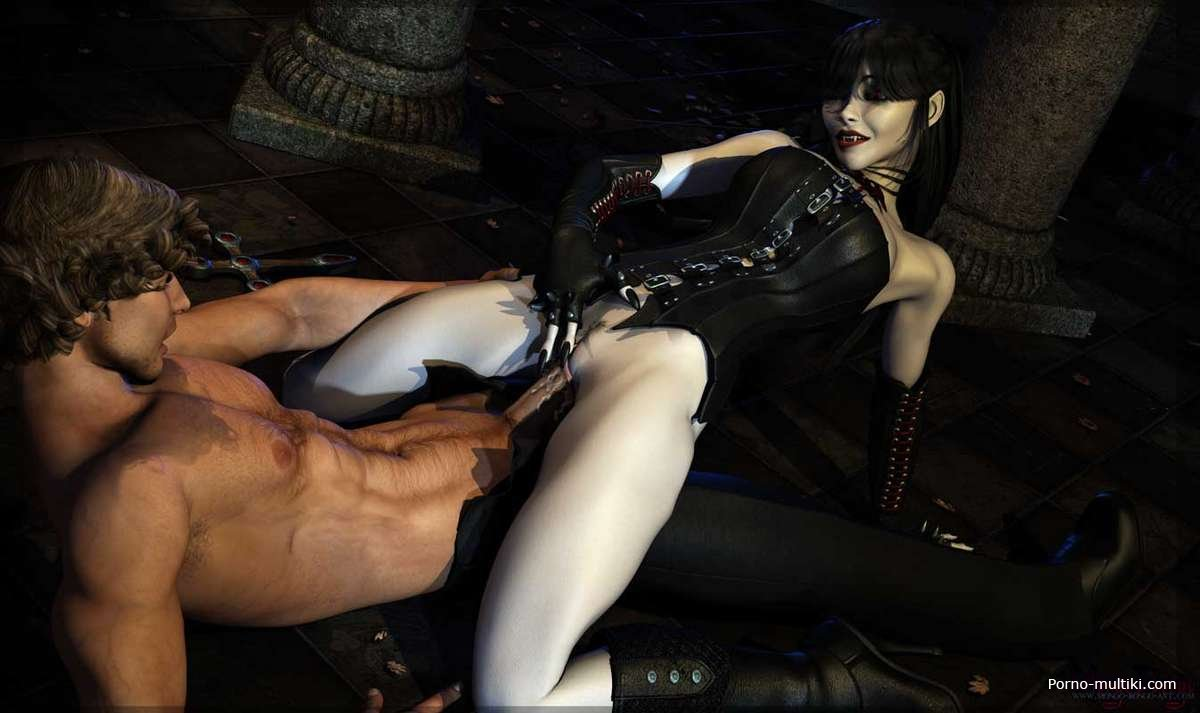 Vampire sex in blood image 3d xxx scene