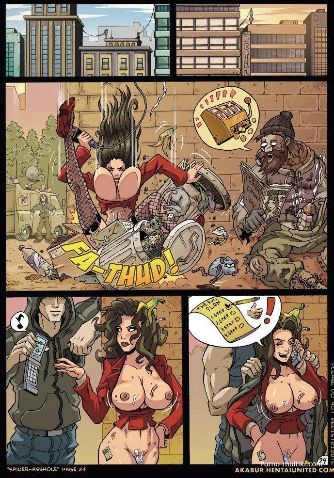 порно комикс человек паук xxx