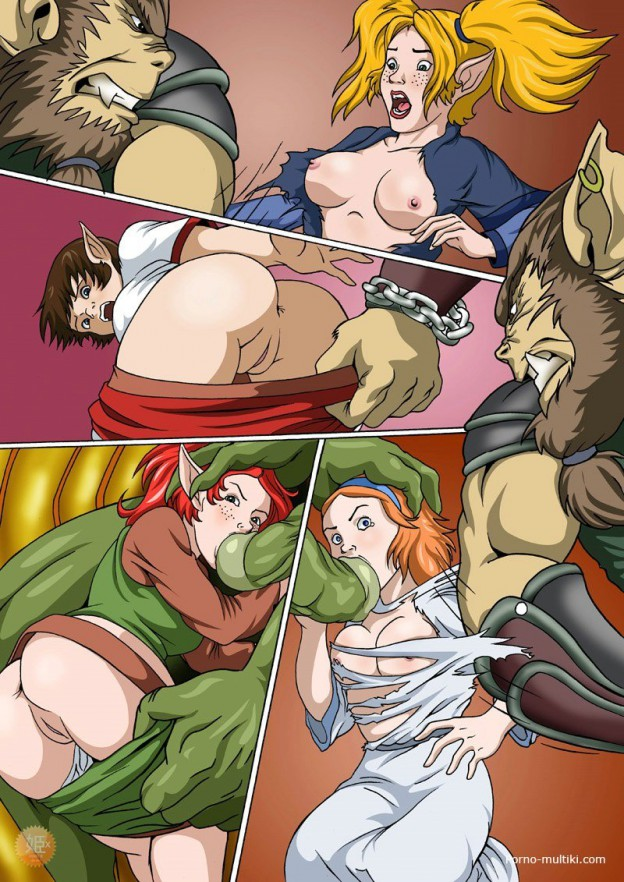 порно фэнтези орки 3д комиксы