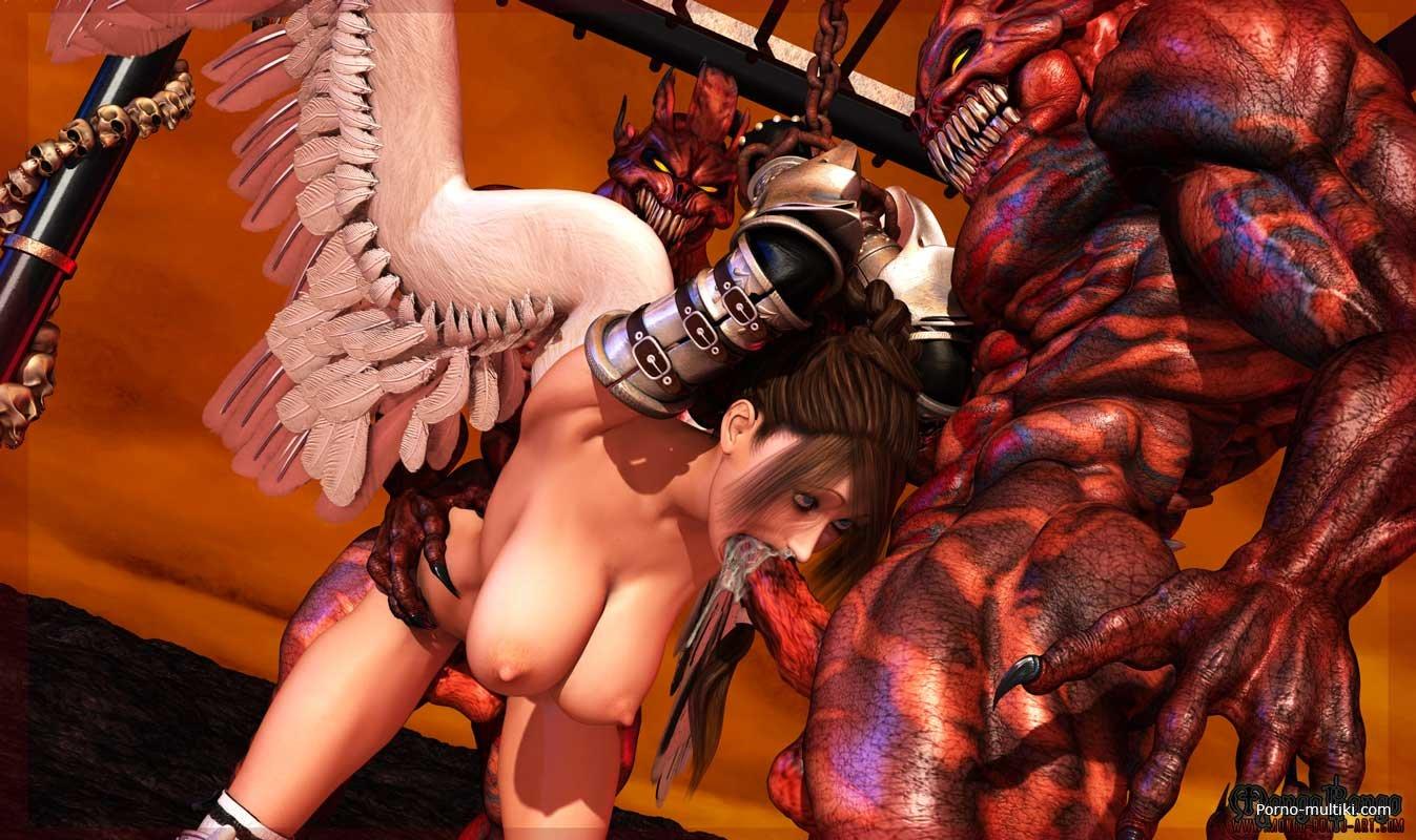 Секс с демоном порно комиксы 28 фотография
