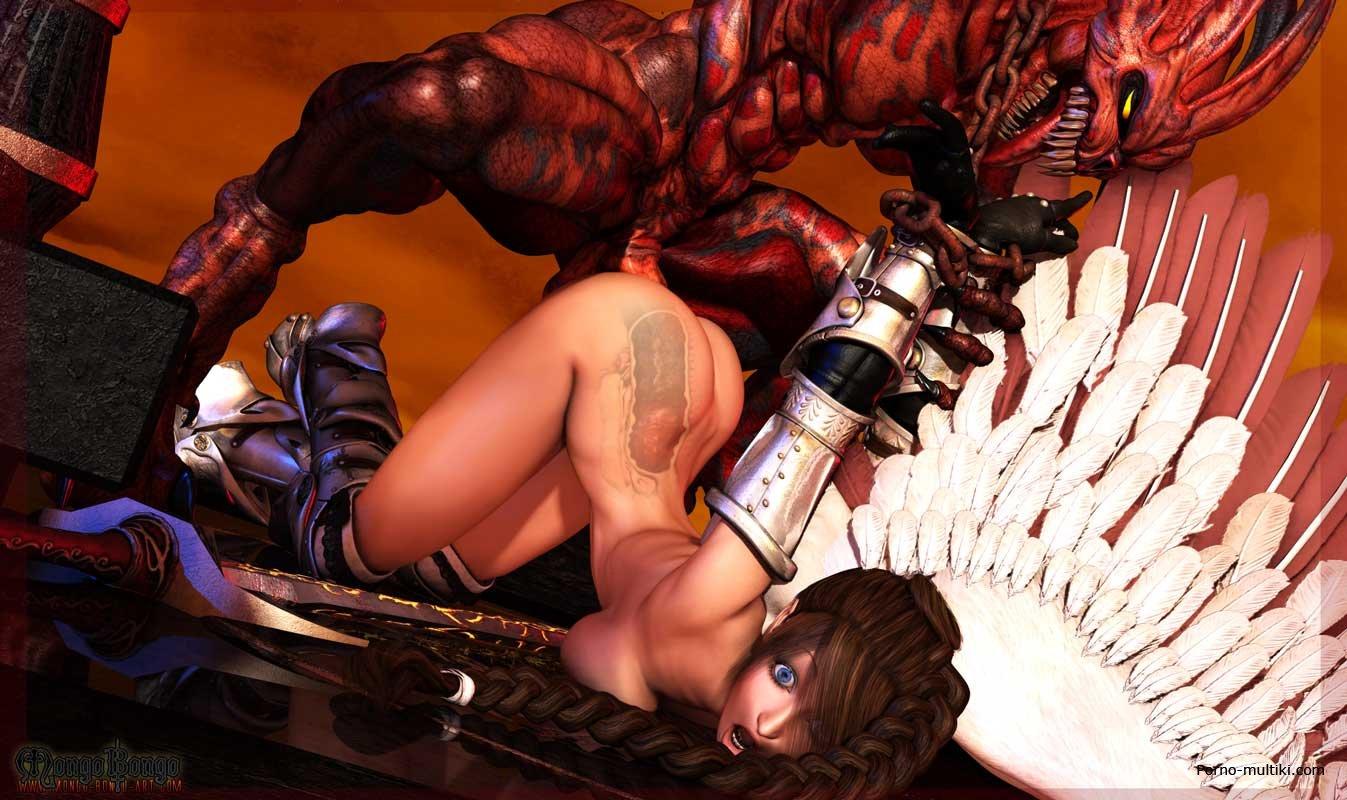 Секс с демоном фантастика