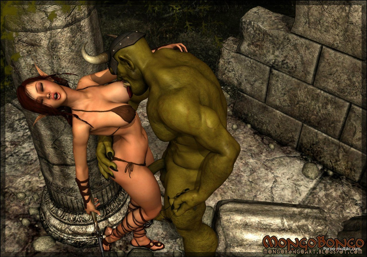 Orcs and elfs sex porn vids