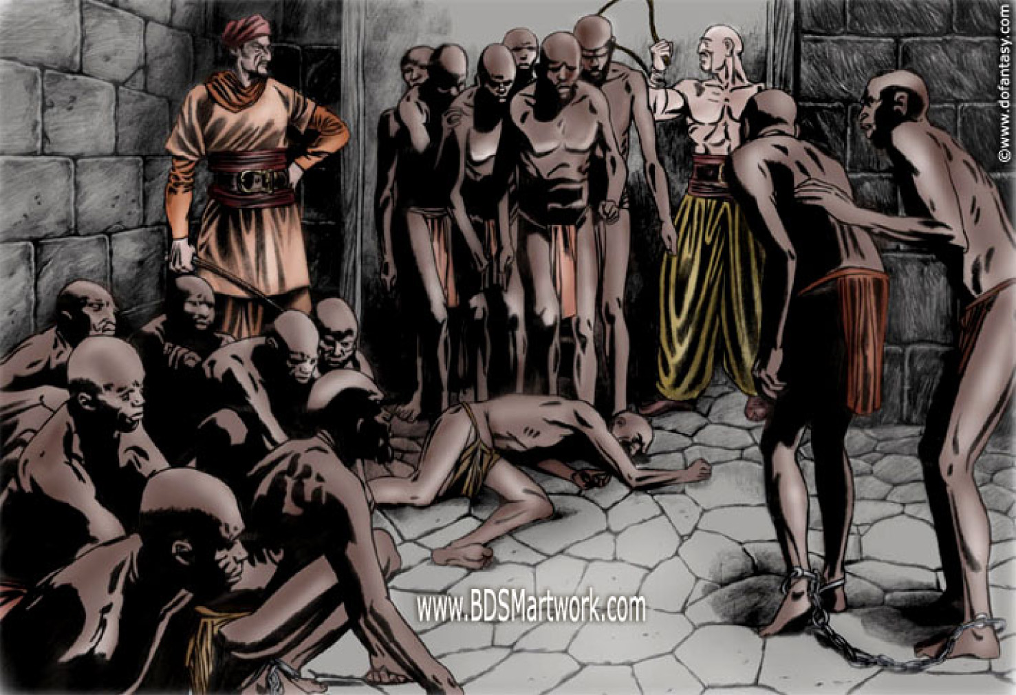 Slave market porn hentia toons