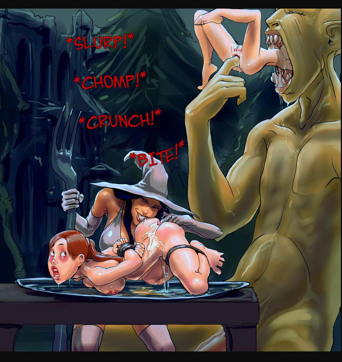 Три Магически Красивых Ведьмы Смотреть Порно Онлайн