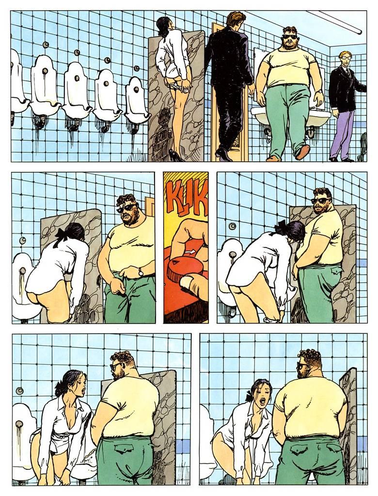 Эротические комиксы в клубе 14 фотография