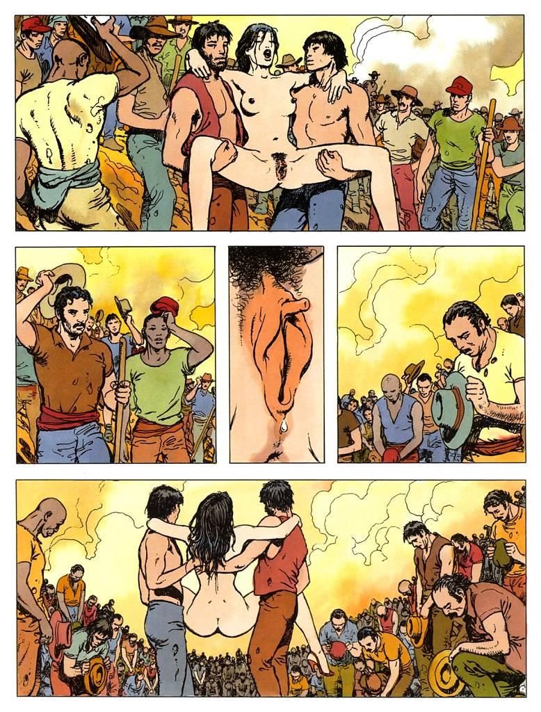 Комиксы рисунки эротика
