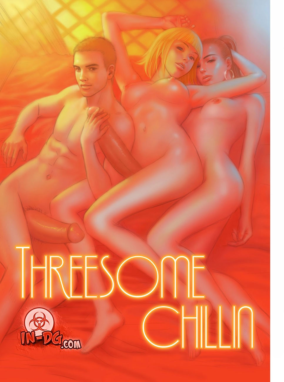 The Threesome Chillin 01