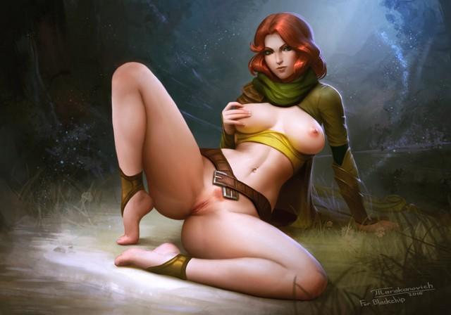 Девушки доты порно